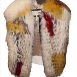 Bcbg Runway Fur vest